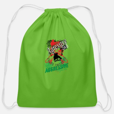 Aggressive Aggressive sport - Cotton Drawstring Bag