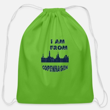 Copenhagen COPENHAGEN I am from - Cotton Drawstring Bag