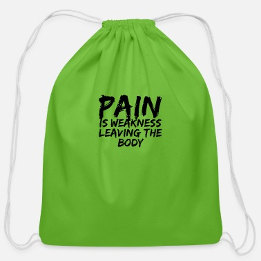 Pain Pain - Cotton Drawstring Bag