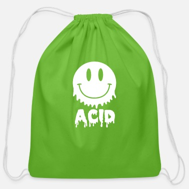 Acid Acid - Cotton Drawstring Bag