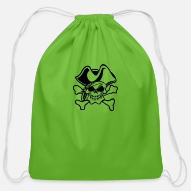 Pirate Pirate - Cotton Drawstring Bag