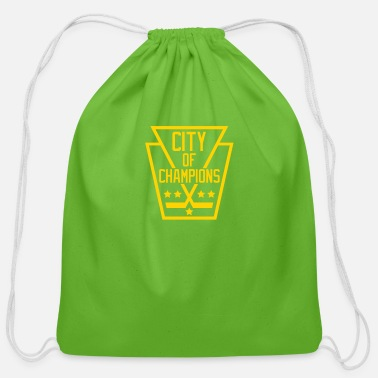 City Of Champions Pittsburgh City of Champions - Cotton Drawstring Bag