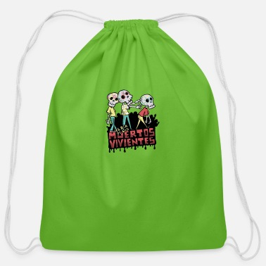 Undead Day of the Undead - Cotton Drawstring Bag
