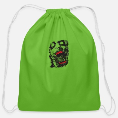 Scifi Zombie - Geek - Horror - Scifi - Cotton Drawstring Bag
