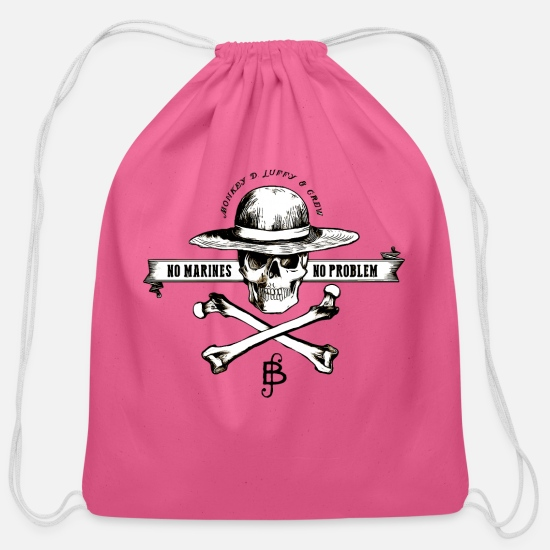 Anime Bags & Backpacks - ONEPIECE - Cotton Drawstring Bag pink