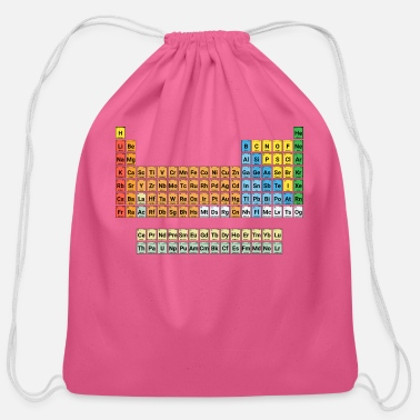 Periodic Table of Elements - Cotton Drawstring Bag