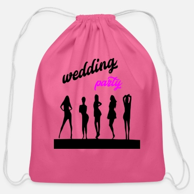 Wedding Party wedding party 7 - Cotton Drawstring Bag