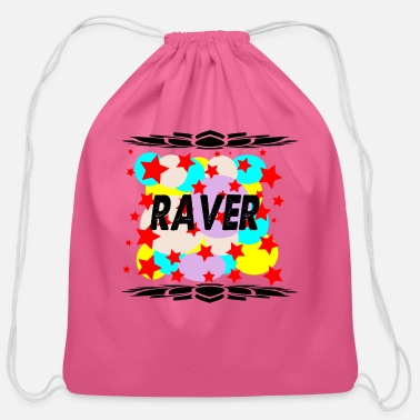 Raver raver - Cotton Drawstring Bag