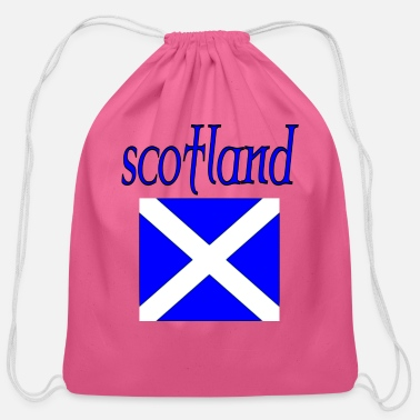 Scotland scotland - Cotton Drawstring Bag