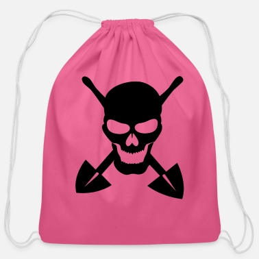 Grave Grave digger - Cotton Drawstring Bag
