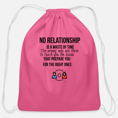 Relationship No relationship - Cotton Drawstring Bag