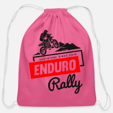 Rally Enduro Rally - Cotton Drawstring Bag