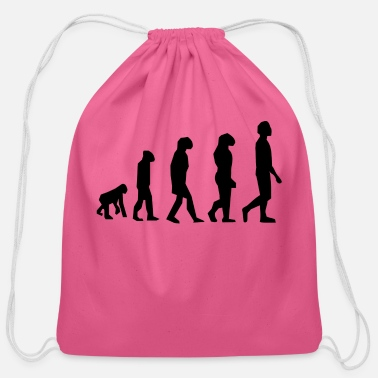 Evolution evolution - Cotton Drawstring Bag