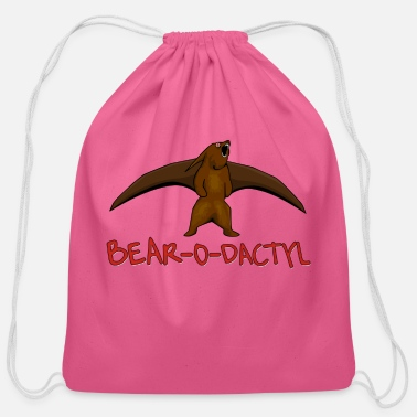 Bear O Dactly - Cotton Drawstring Bag