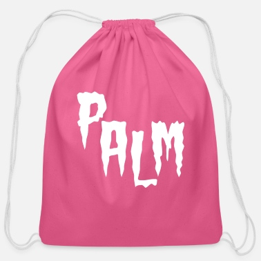 Emo Horror Palm - Cotton Drawstring Bag