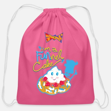I'm a FUNnel Cake - Cotton Drawstring Bag