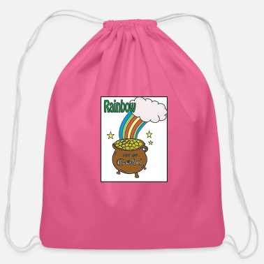 Rainbow Rainbow - Cotton Drawstring Bag