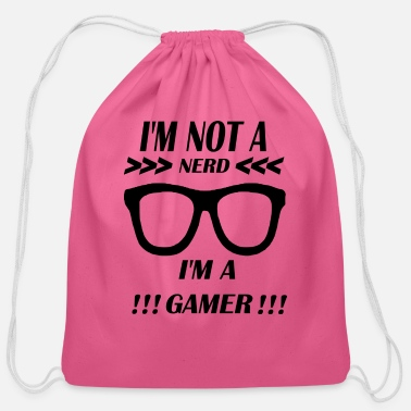Nerd NERD - Cotton Drawstring Bag