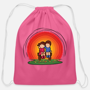 Children children - Cotton Drawstring Bag