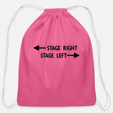 Stage theatre stage - Cotton Drawstring Bag