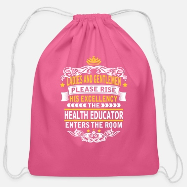 Educator HEALTH EDUCATOR - Cotton Drawstring Bag