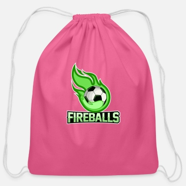 Fireball fireballs - Cotton Drawstring Bag