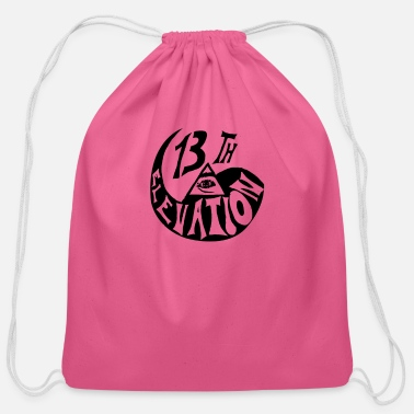 13th Floor Elevator The 13th Floor Elevators tee - Cotton Drawstring Bag