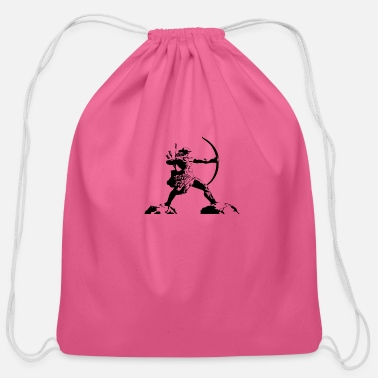 Archer archer - Cotton Drawstring Bag