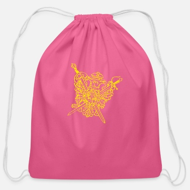 Crest the crest - Cotton Drawstring Bag