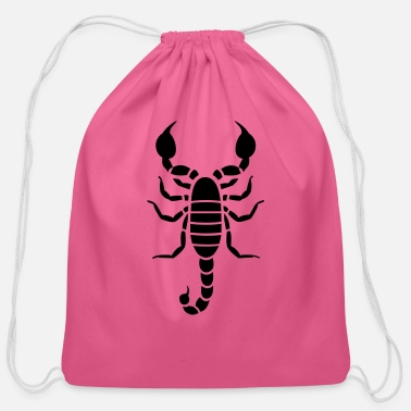 Scorpion Scorpion - Cotton Drawstring Bag