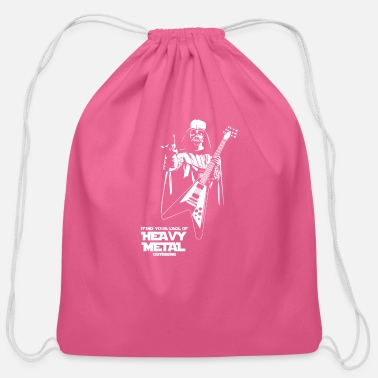 Heavy Funny Darth Vader I Find Your Lack Of Heavy Metal - Cotton Drawstring Bag