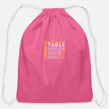 Chemistry Chemistry - Cotton Drawstring Bag
