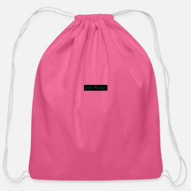 Sayings saying - Cotton Drawstring Bag