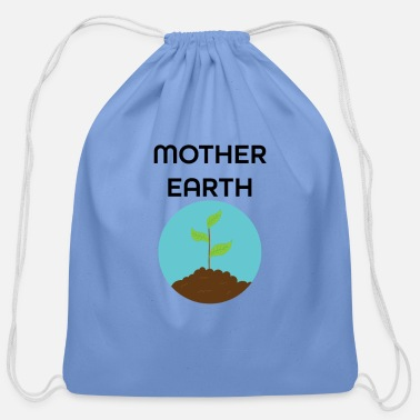 Mother Earth Mother Earth - Cotton Drawstring Bag