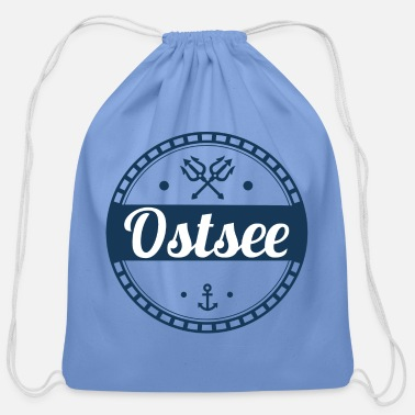 Baltic Sea Baltic Sea,sea,baltic,island,holiday,summer,beach - Cotton Drawstring Bag