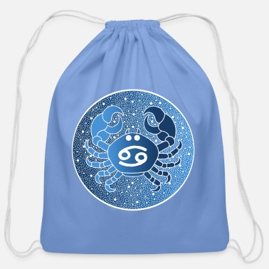 Horoscope Astrological sign: cancer - Cotton Drawstring Bag