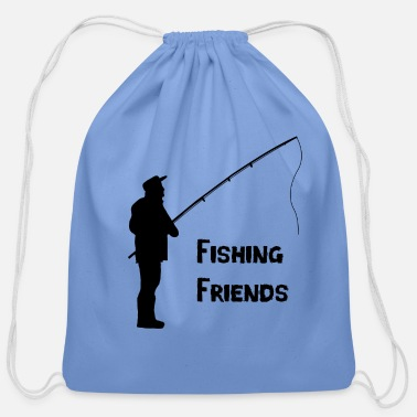 Fisher Fishing - Cotton Drawstring Bag