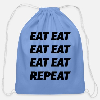 Hungry Hungry hungry hungry! - Cotton Drawstring Bag