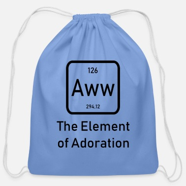 Element Element of Adoration - Cotton Drawstring Bag