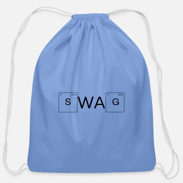 Skill Game SWAg - Theme Periodic Table - Cotton Drawstring Bag