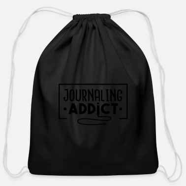 Log Diary keep journal Diarium Memorial log book - Cotton Drawstring Bag