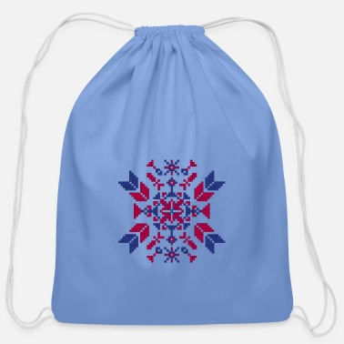 Tradition Traditional embroidery - Cotton Drawstring Bag