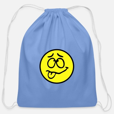 Funny Smiley - Cotton Drawstring Bag