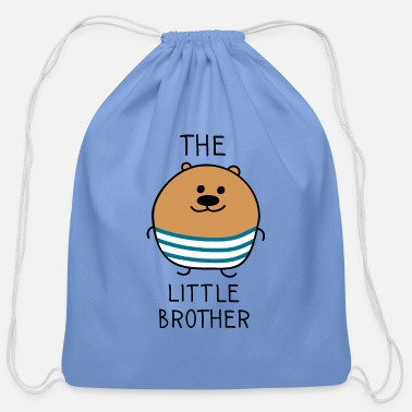Little The little brother bear - Cotton Drawstring Bag