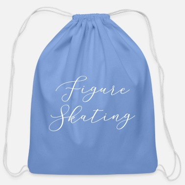FIGURE SKATING - Cotton Drawstring Bag