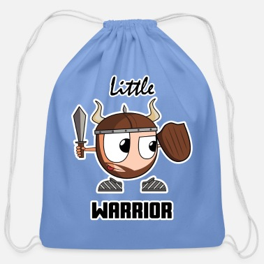 Little LITTLE WARRIOR - Cotton Drawstring Bag