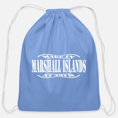 Marshall Islands made in marshall islands - Cotton Drawstring Bag