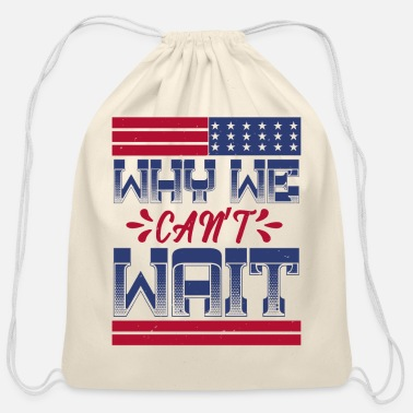 Civil Rights Martin Luther King Day gift - Cotton Drawstring Bag