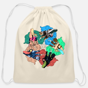 Hallucination Hallucination - Cotton Drawstring Bag