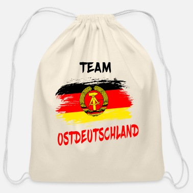 East Germany Team Ostdeutschland / East Germany Gift Germany - Cotton Drawstring Bag